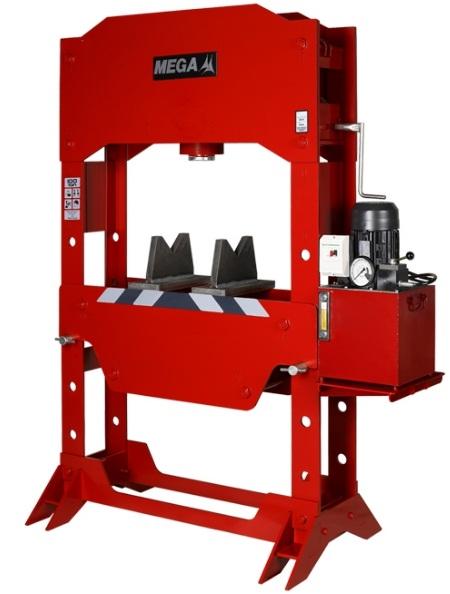 may ep thuy luc Mega K100E, Mega hydraulic press K100E