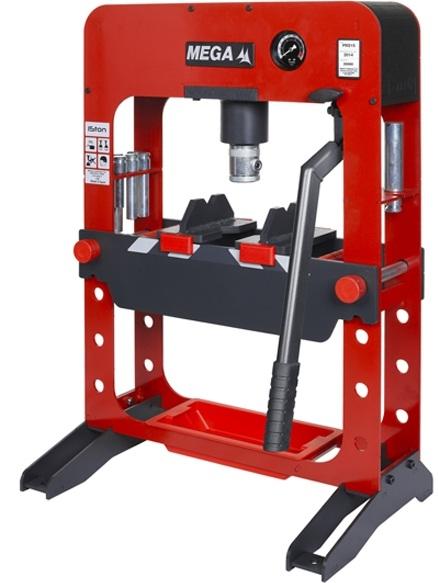 may ep thuy luc Mega PRS15, Mega hydraulic press PRS15