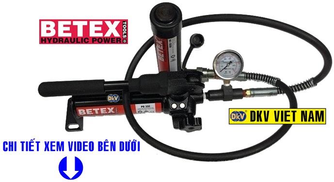 bo kich thuy luc 5 tan, nsss 57, pb 350, betex, hydraulic cylinder, hydraulic hand pump