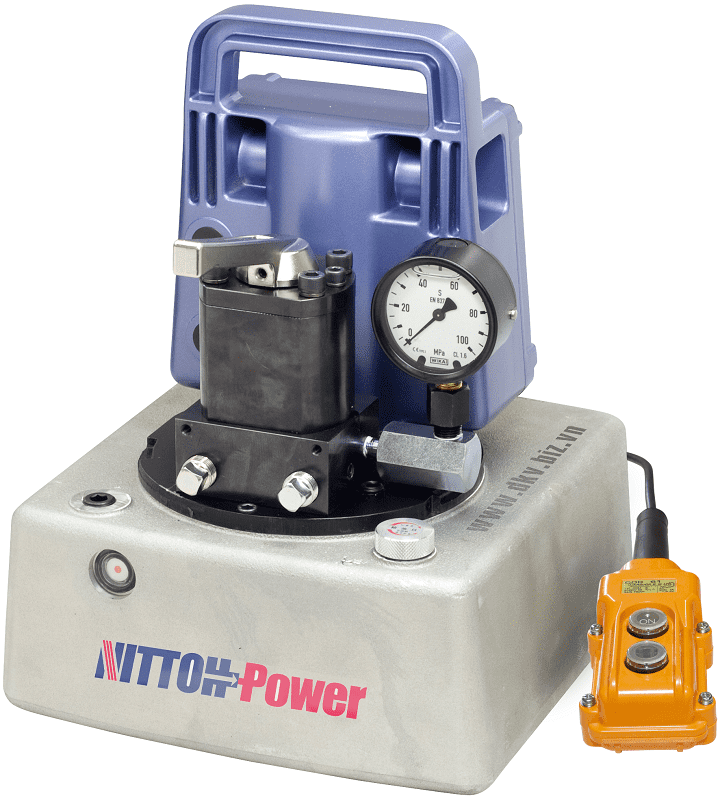 bom thuy luc Nittoh Power UP-45SVG-7L, Nittoh Power electric hydraulic pump UP-45SVG-7L