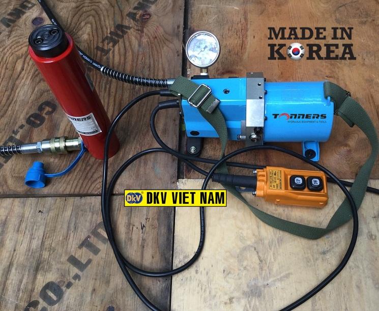 bom dien thuy luc Tonners DMP-4000S2, Tonners electric hydraulic pump DMP-4000S2