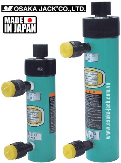 kich thuy luc Osaka E5H8, con doi thuy luc E5H8, Osaka double acting hydraulic jack E5H8