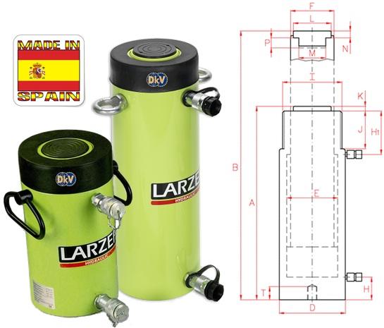 kich thuy luc Larzep D07516, Larzep hydraulic cylinder D07516